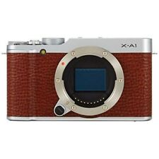 Near Mint! Fujifilm X-A1 16.3MP Digital Camera Body Brown - 1 year warranty