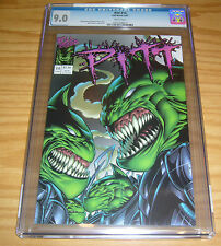 Pitt #14 CGC 9.0 full bleed - dale keown - low print run - white pages 1997