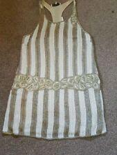 Topshop Sleeveless Dresses Beaded