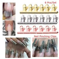 Nail Pinching Clips Manicure Tool Rusian C Curve Nail Extension Pinchers