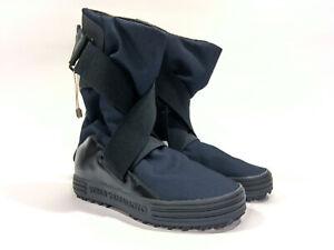 Adidas Y-3 Yohji Yamamoto Sno Foxing Strap Sports Boots Blue/Black Sz 6 NIB Tags