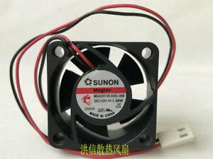 SUNON MB40201VX-000C-A99 DC12V 1.38W 40*40*20MM 4CM 2Pin Cooling Fan