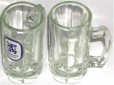 BEER DRINKING GLASS MUG LOWENBRAU MUNICH BREWERY TALL