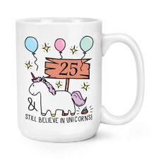 25th anniversaire crois encore licornes 15 oz (environ 425.24 g) Mighty Mug Tasse-Drôle Happy Cadeau