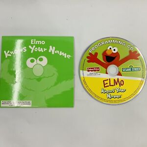 Elmo Knows Your Name Programming CD-ROM, Sesame Street Fisher-Price