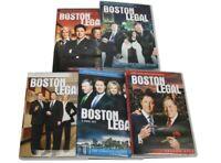BOSTON LEGAL: The Complete Series DVD Season 5 4 3 2 1 US Seller New Sealed