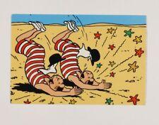 Carte postale Tintin Carte Q8, Dupont et Dupont