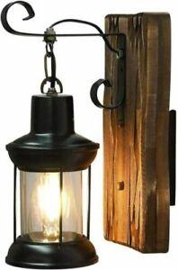 Industrial Retro Loft Wooden Wall Sconce Lamp Lifting Restaurant Wall Fixtures