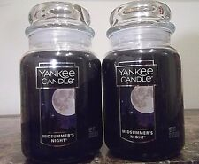 Yankee Candle  MidSummer's Night   22 oz. NEW Lot of 2.  Free Shipping.