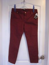 Women's Red Designer Jeans By Jay Manuel - Size 12 NWT