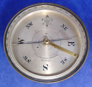 1855 Chamberlain Ritchie Survey Compass, only 1 known by this maker