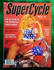 SUPERCYCLE - FEBRUARY 1988 EDITION - HARLEY DAVIDSON - Easy Rider Motorcycle