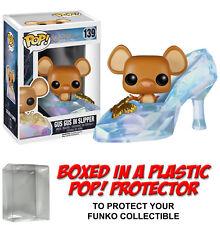 Funko POP! Disney ~ GUS GUS VINYL FIGURE ~ Cinderella ~ w/Protector Case