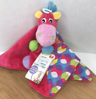 Playgro Security Blanket Pink Clopette Comforter Horse Plush Lovey
