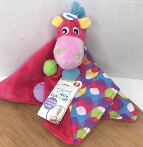 Playgro Security Blanket Pink Clopette Comforter Horse Plush Lovey