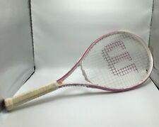 Wilson Hope Pink Tennis Racquet 4 1/4â€ 00004000 � L2 Cure Breast Cancer
