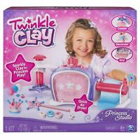 Twinkle Clay Princess Studio Makes Sparkly Air-Dry Creations Ages 4+ Toy Pot Fun