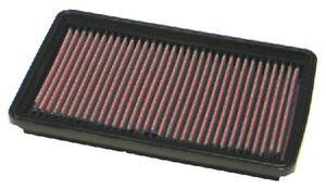 K&N Hi-Flow Performance Air Filter 33-2161 fits Hyundai Excel 1.5 i 12V (X-3)...