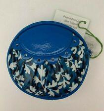 Vera Bradley Frill Blue Lagoon Peek-A Boo Coin Purse Zip Case with Tags