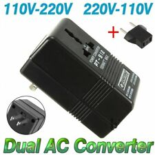 100W Converter Adapter AC 110V/120V to 220V/240V Up Down Volt Transformer + EU#M