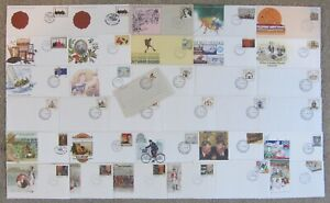 +++ AUSTRALIA PRE-STAMPED FIRST DAY of ISSUE POSTAL STATIONERY 1979 to 1989 +++