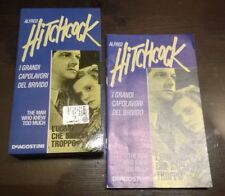 "VHS""A.HITCHCOCK THE MAN WHO KNEW TOO MUCH L'UOMO CHE SAPEVA TROPPO+FASCICOLO"""