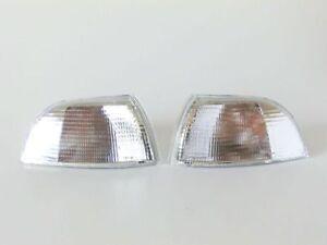 Blinker Blinkerleuchte Blinkleuchte weiß Links Rechts SET paßt zu Fiat Punto 176