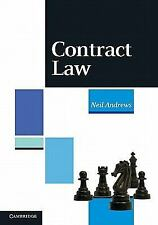 Contract Law  (UK IMPORT)  BOOK NEW