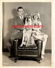 Vintage Lightning GERMAN SHEPHERD DOG STAR MGM 20s PublicityPortrait RIN TIN TIN