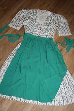 KL4051@ Drindl costume folklore+Tablier @ Manches courtes Vintage Corsage Dirndl