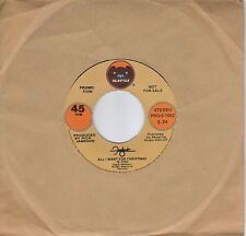 FOGHAT  All I Want For Christmas  rare promo 45 from 1981