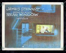 REAR WINDOW * CineMasterpieces ORIGINAL MOVIE POSTER 1954 ALFRED HITCHCOCK