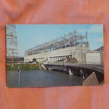 Vintage Postcard Bonneville Dam, Oregon & Washington