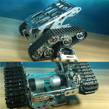 Metal Independent Suspension System Caterpillar Robot Tank chassis For Arduino