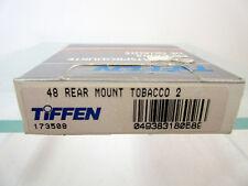 New Tiffen 48mm Rear Mount Solid Tobacco 2 Round Filter