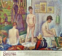 "ART POSTER. SEURAT'S PAINTING 'MODELS',METROPOLITAN, SEPT 21,1991, 26 3/4"" x 29"""