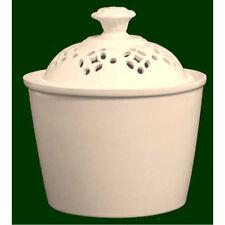 Royal Creamware Pierced Sugar Cup