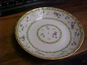 Bernardaud Limoges ARTOIS VERT Green Fruit Bowl(s)