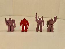 Decoy Hasbro Vintage G1 Transformers Action Figure Lot of 4