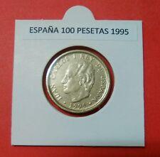 ESPAÑA 100 PESETAS JUAN CARLOS USADA AÑO 1995