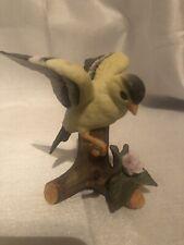 Enesco American Golden Finch Figurine Bird