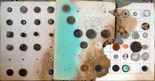 Antique Button Collection Buttons P412