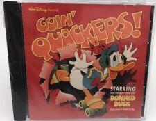 GOIN QUACKERS - RARE Starring  Donald Duck  (CD) Very Good
