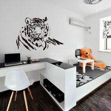 Bedroom Kitchen Wall Decal Home Decoration Tiger Sticker Wall Art Vinyl WE9X