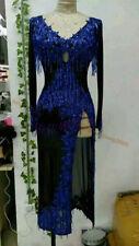 Tassel Latin Dance Dress Clothing Salsa Costume Ballroom Competition Skirt/