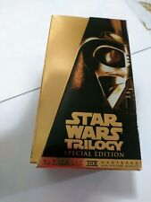 Star Wars Trilogy VHS Special Edition 1997 Gold Box 3-VHS Set