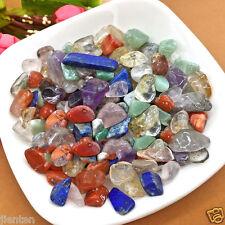 Colorful 50g Mixed Natural Tumbled Gemstones Crystals Mix Rocks Gem Stones 7-9mm