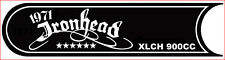 "CUSTOM DIE CUT DECAL KIT ""1971"" FOR IRONHEAD PRIMARY COVER FITS '71 TO '76"
