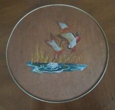 vintage Smith Crafted Duck Tin Handpainted Chicago