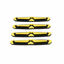 Set for Car Door Edge Guard Scratch Protector Anti-collision Trim Molding Yellow